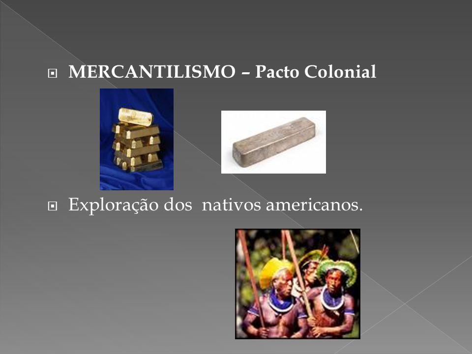 MERCANTILISMO – Pacto Colonial