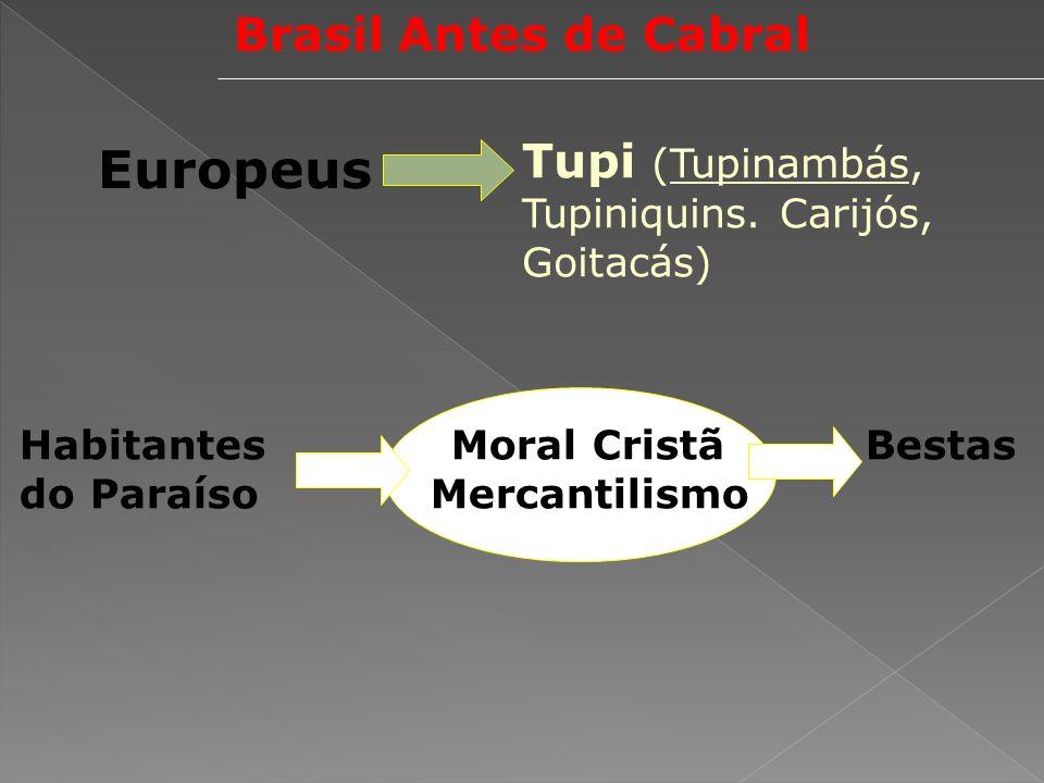 Europeus Brasil Antes de Cabral