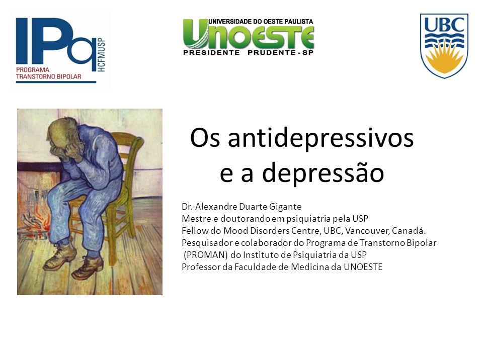 Os antidepressivos e a depressão