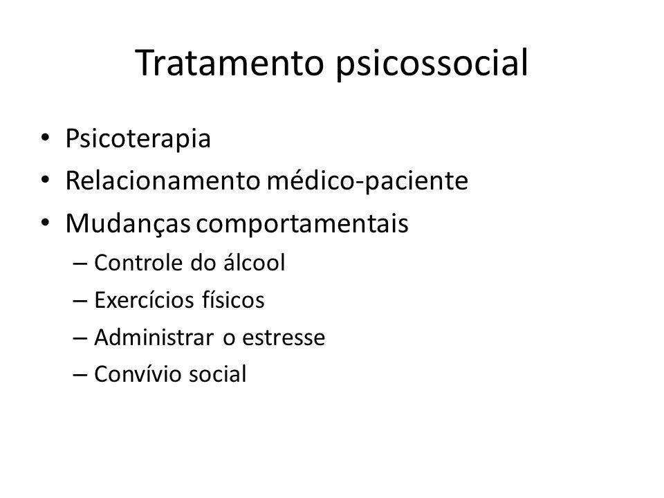 Tratamento psicossocial