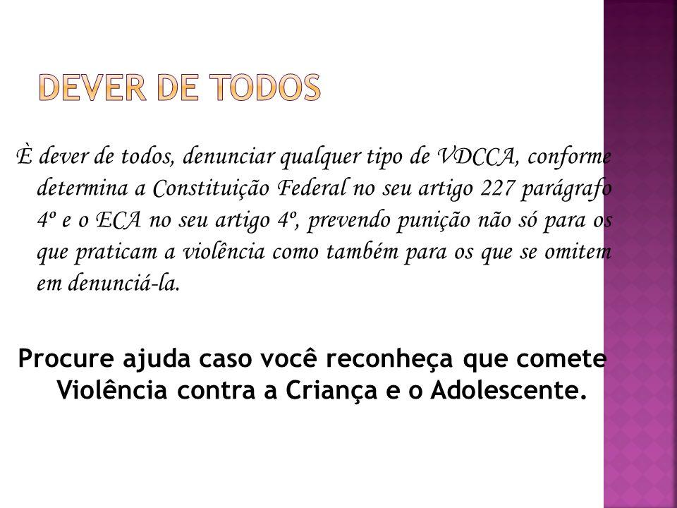 DEVER DE TODOS