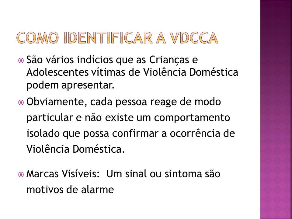 Como identificar a VDCCA