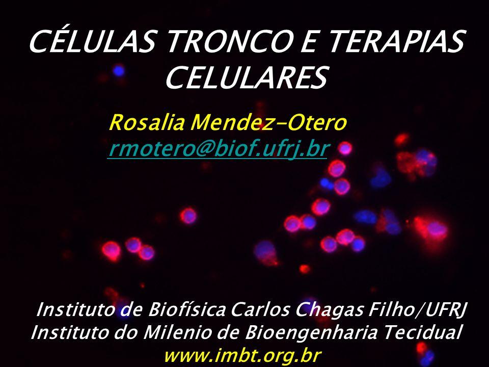 CÉLULAS TRONCO E TERAPIAS CELULARES