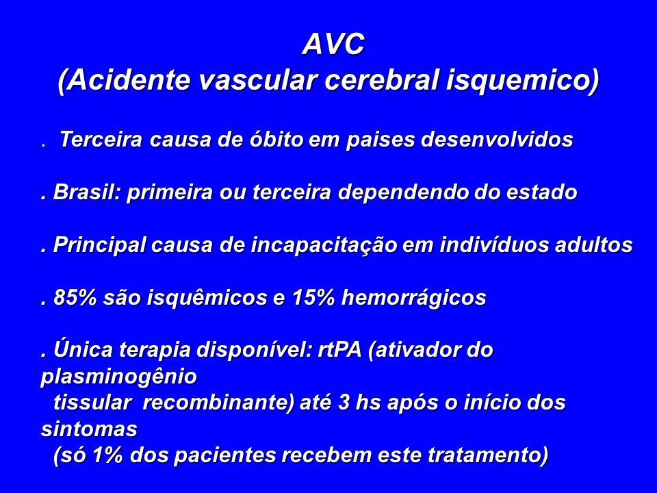 AVC (Acidente vascular cerebral isquemico)