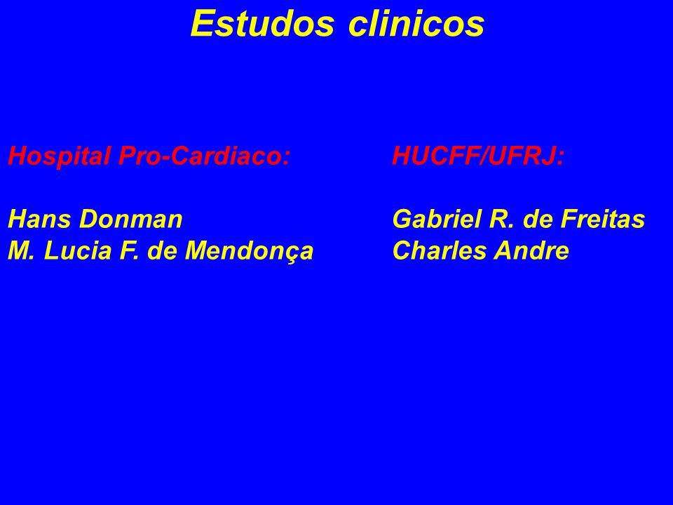Estudos clinicos Hospital Pro-Cardiaco: Hans Donman