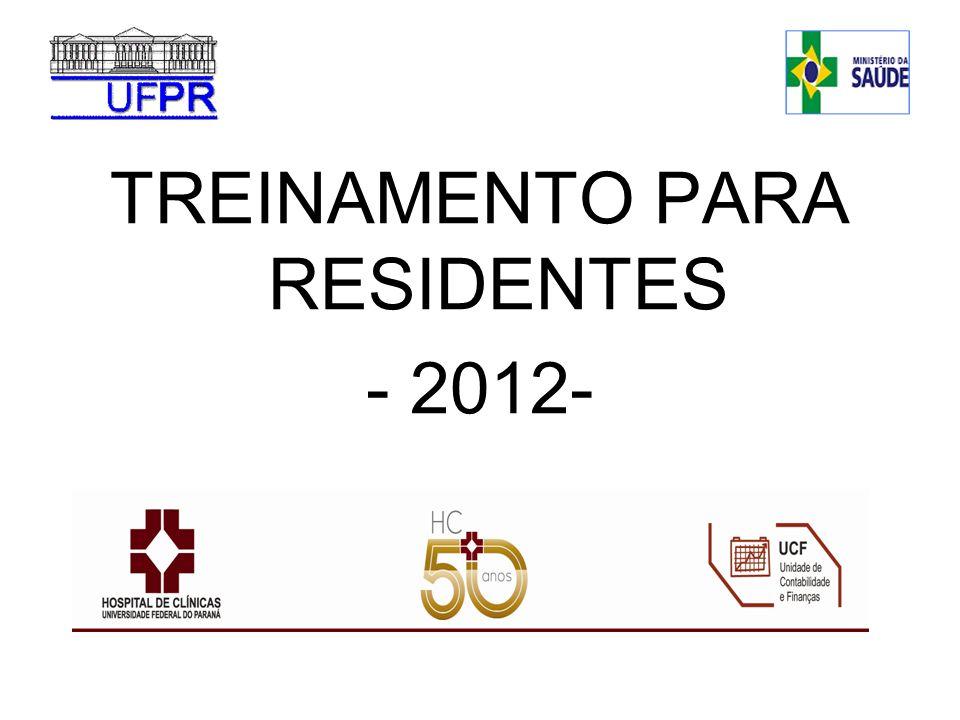 TREINAMENTO PARA RESIDENTES
