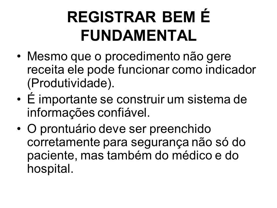 REGISTRAR BEM É FUNDAMENTAL