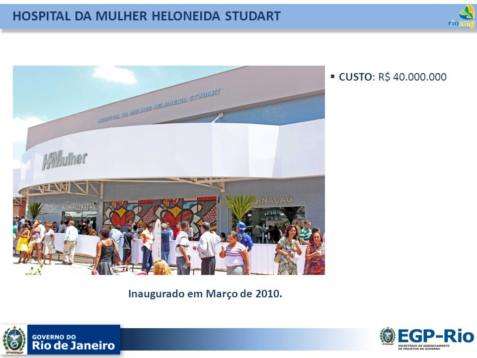 HOSPITAL DA MULHER HELONEIDA STUDART