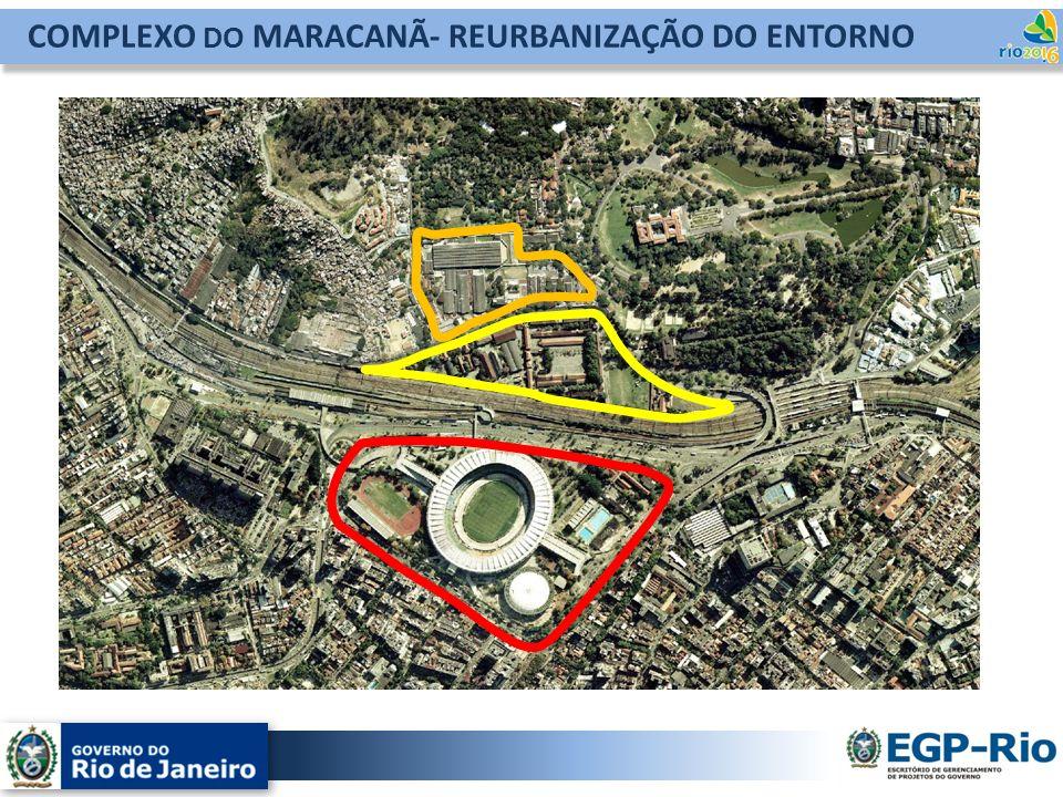 COMPLEXO DO MARACANÃ- REURBANIZAÇÃO DO ENTORNO