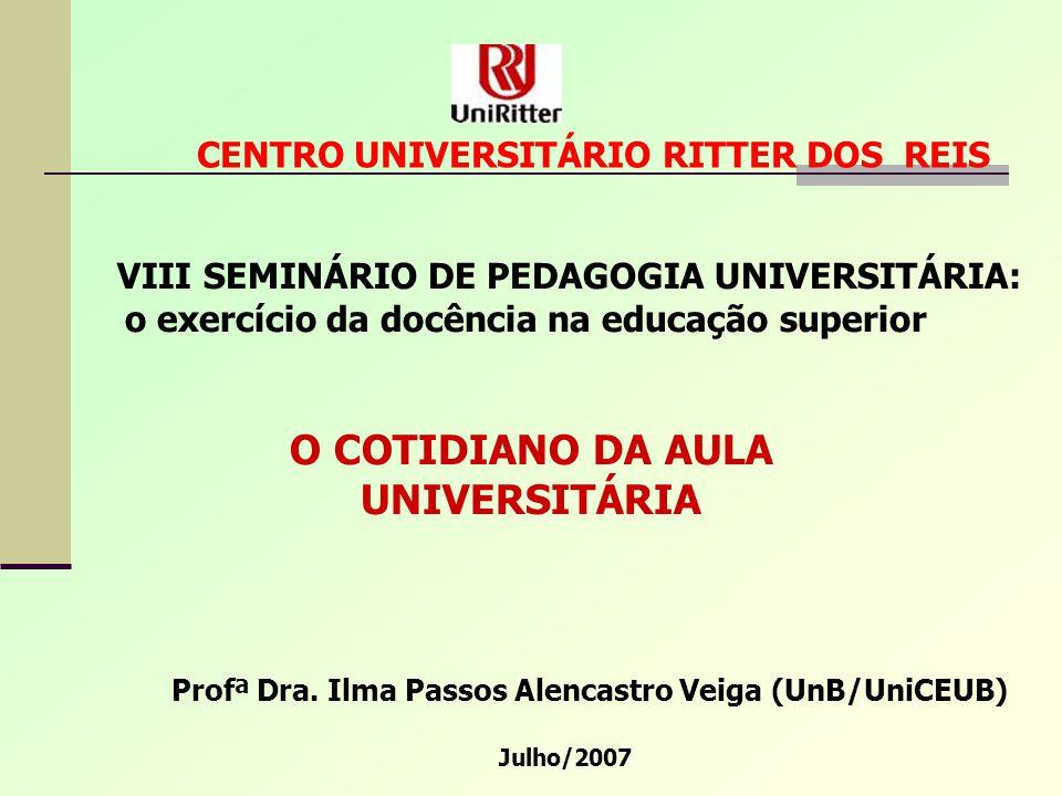 O COTIDIANO DA AULA UNIVERSITÁRIA