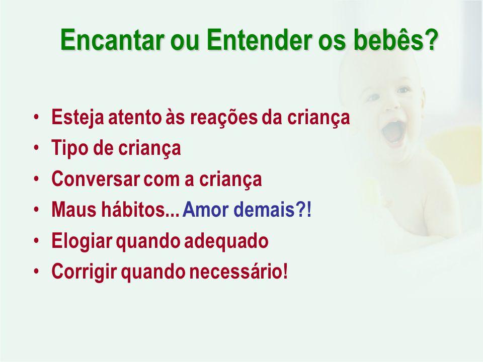 Encantar ou Entender os bebês