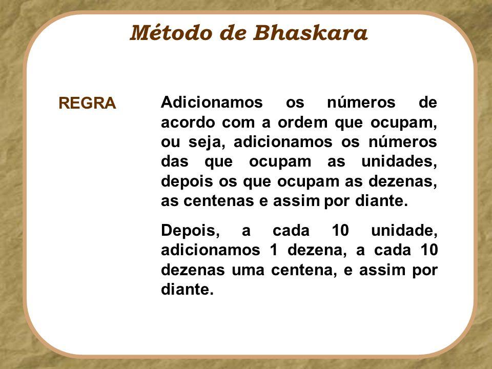 Método de Bhaskara REGRA