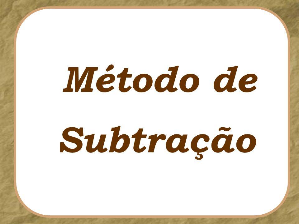 Método de Subtração
