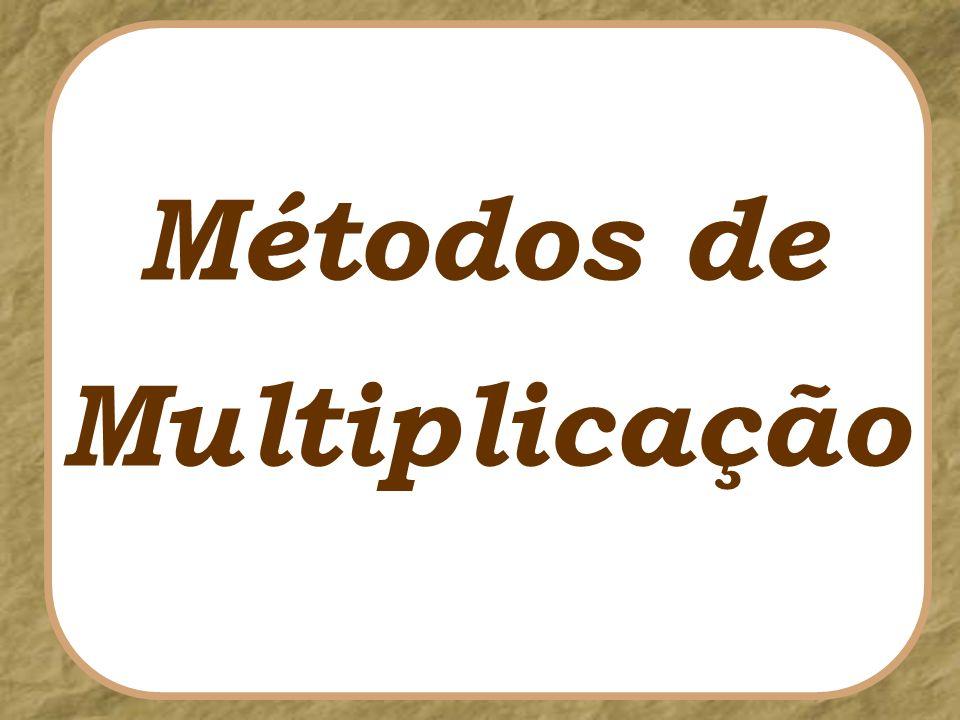 Métodos de Multiplicação