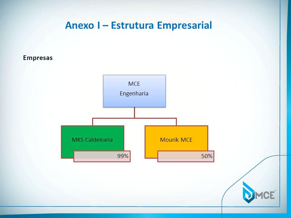 Anexo I – Estrutura Empresarial