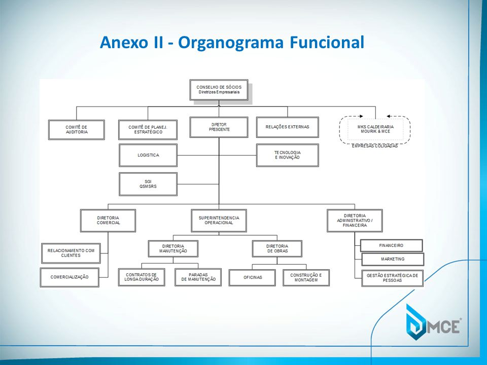 Anexo II - Organograma Funcional