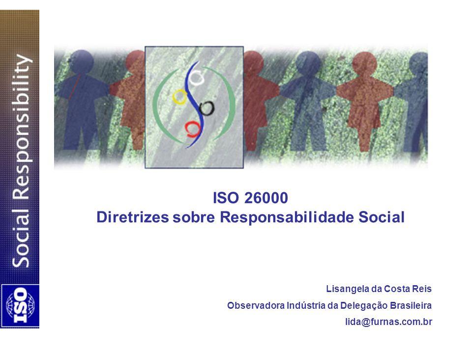 ISO 26000 Diretrizes sobre Responsabilidade Social