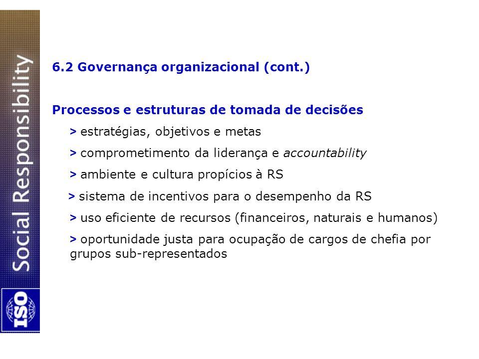 6.2 Governança organizacional (cont.)