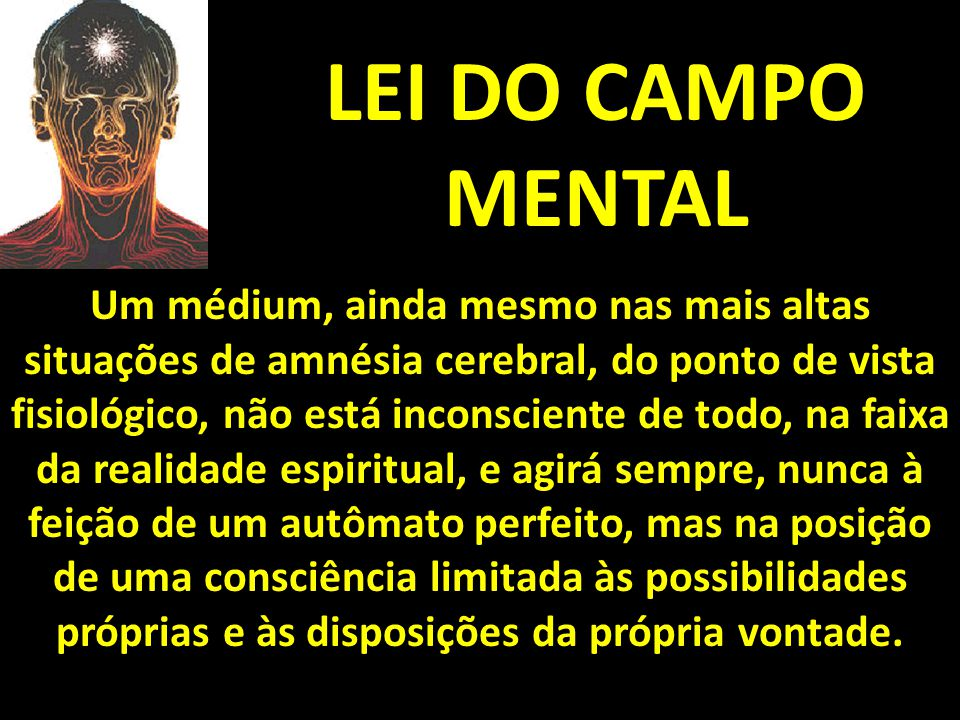 LEI DO CAMPO MENTAL