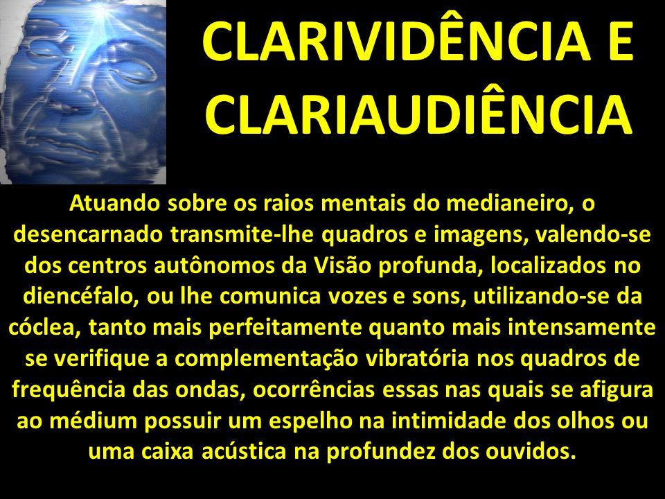 CLARIVIDÊNCIA E CLARIAUDIÊNCIA