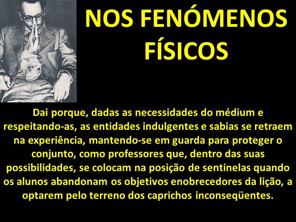 NOS FENÓMENOS FÍSICOS