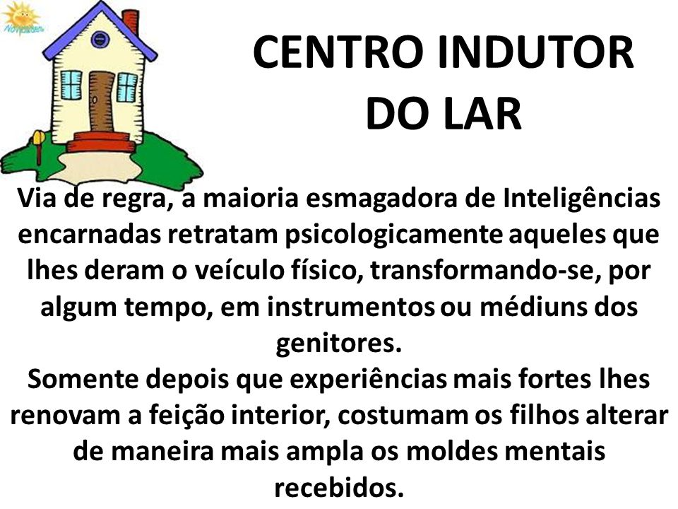 CENTRO INDUTOR DO LAR