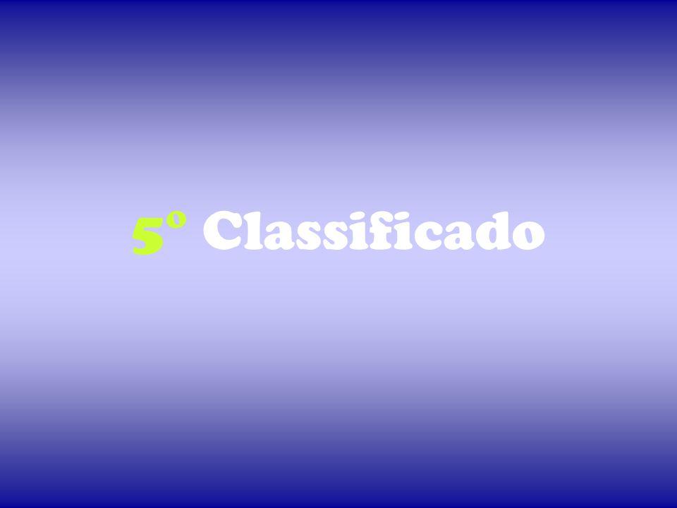 5° Classificado