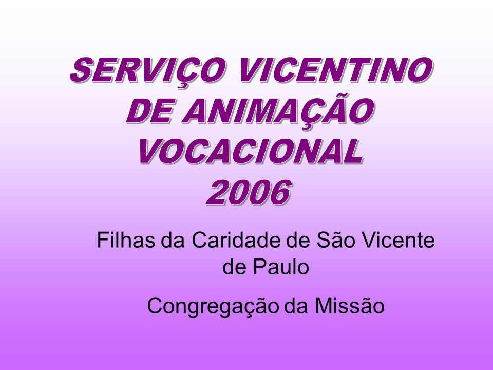 Filhas da Caridade de São Vicente de Paulo