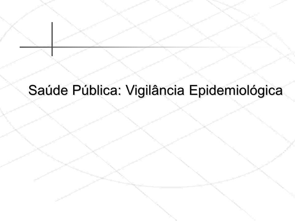 Saúde Pública: Vigilância Epidemiológica