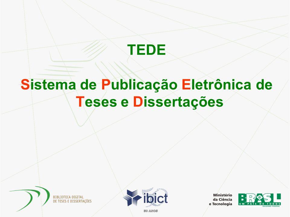 Sistema de Publicação Eletrônica de Teses e Dissertações