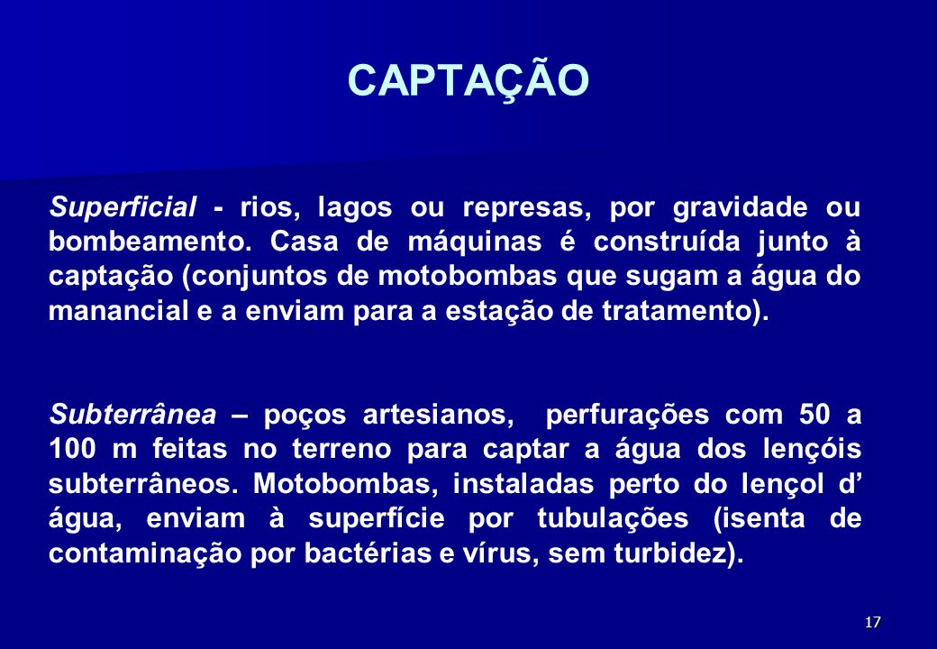 CAPTAÇÃO