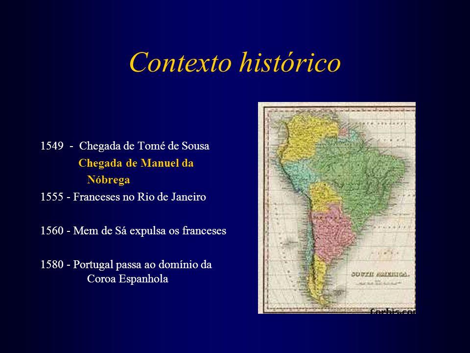 Contexto histórico 1549 - Chegada de Tomé de Sousa