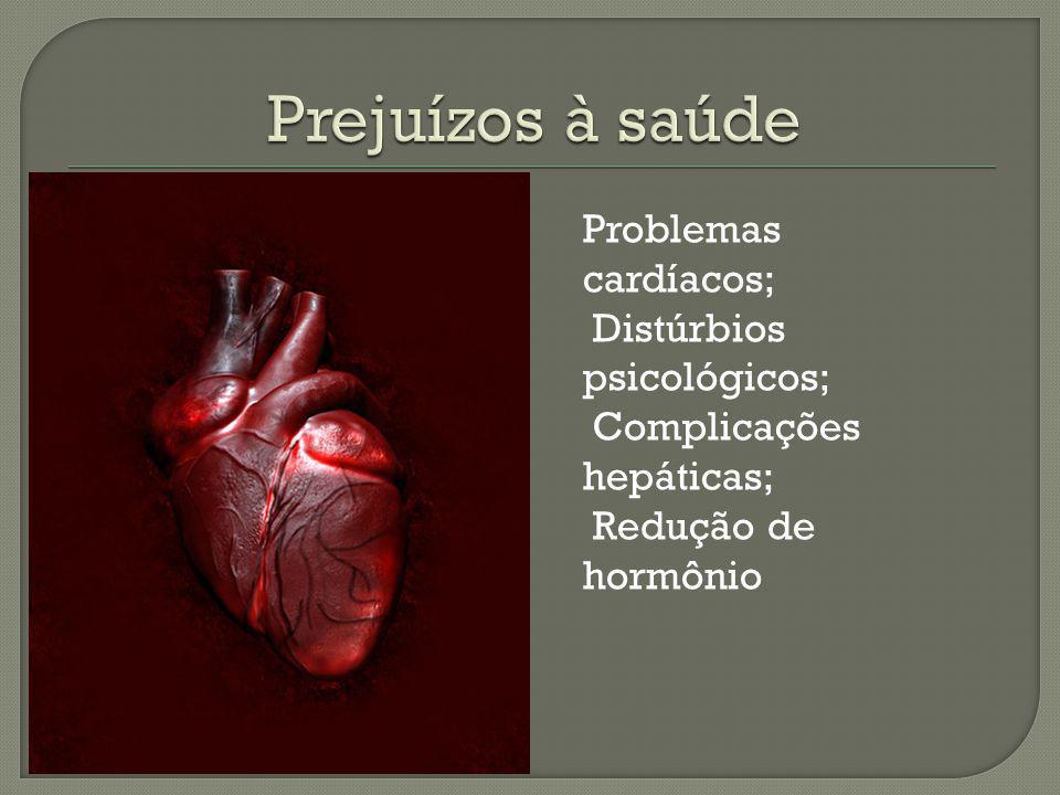 Prejuízos à saúde Problemas cardíacos; Distúrbios psicológicos;