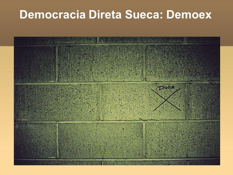 Democracia Direta Sueca: Demoex