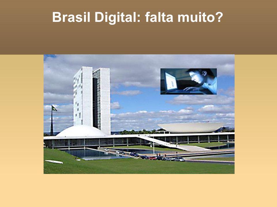 Brasil Digital: falta muito