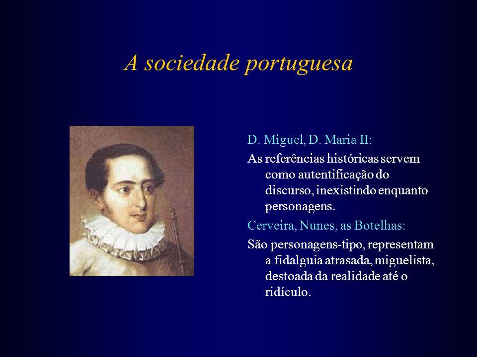 A sociedade portuguesa