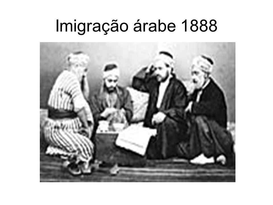 Imigração árabe 1888