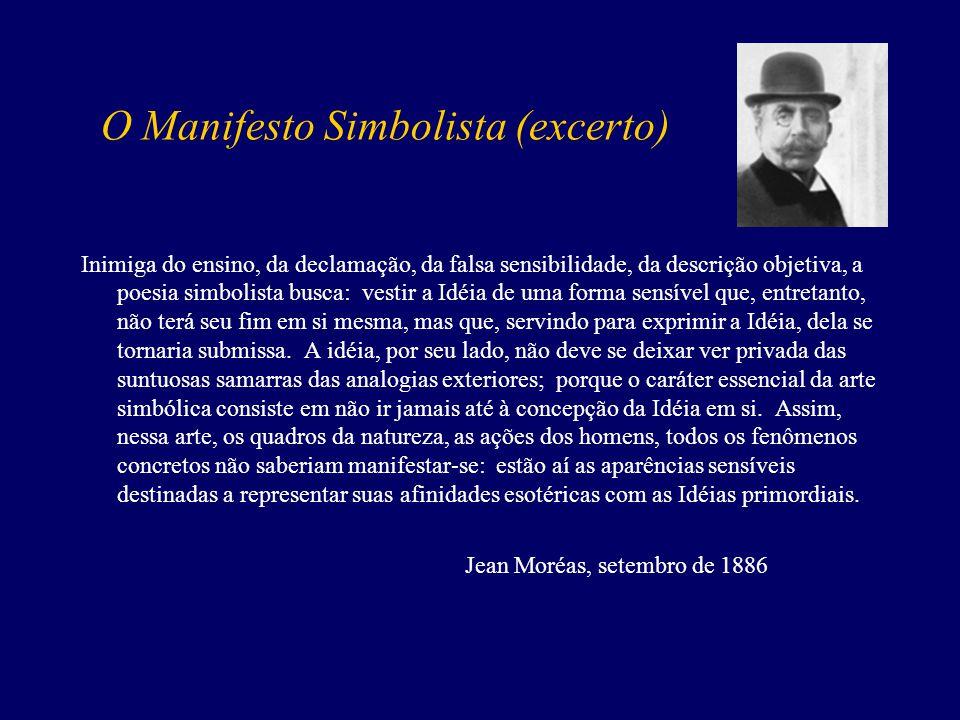 O Manifesto Simbolista (excerto)