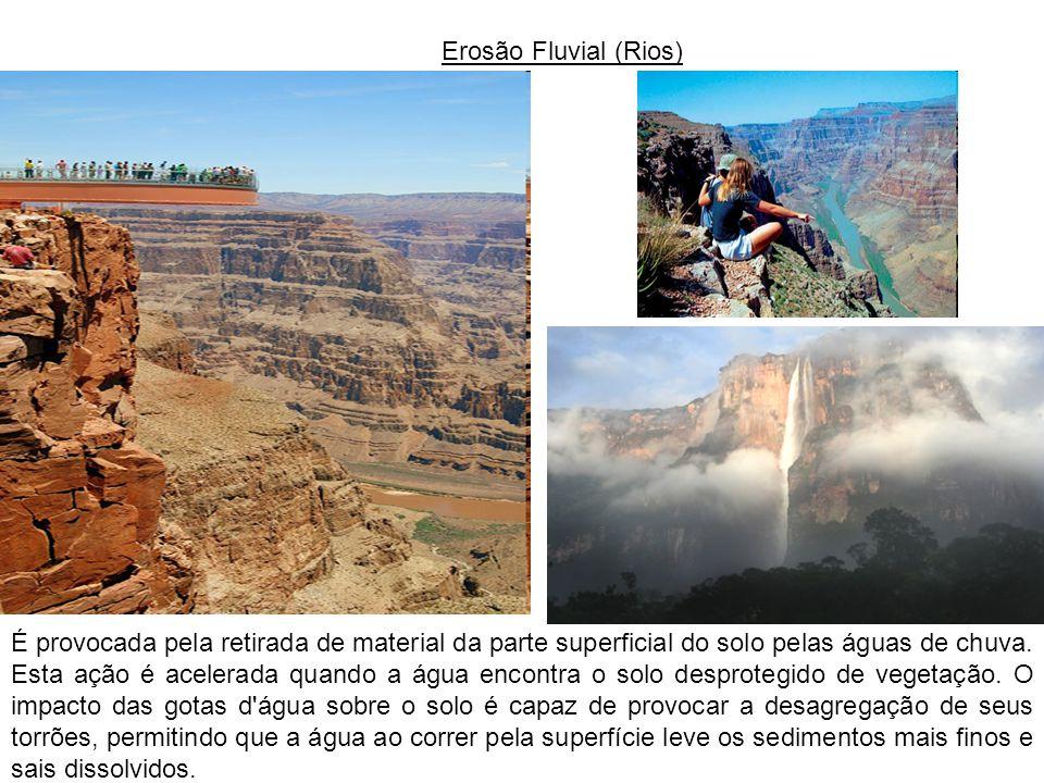 Erosão Fluvial (Rios)