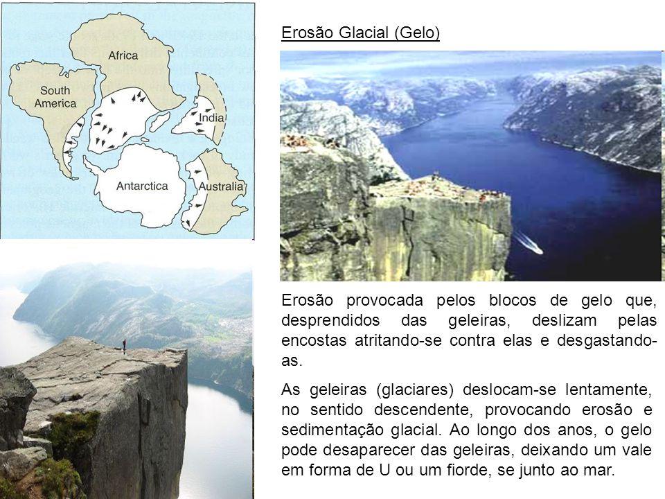 Erosão Glacial (Gelo)