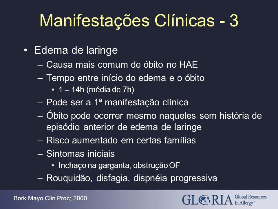 Manifestações Clínicas - 3