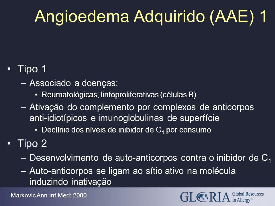 Angioedema Adquirido (AAE) 1