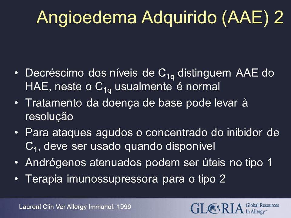 Angioedema Adquirido (AAE) 2