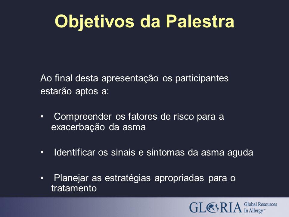 Objetivos da Palestra Ao final desta apresentação os participantes