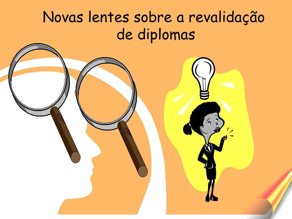Novas lentes sobre a revalidação de diplomas