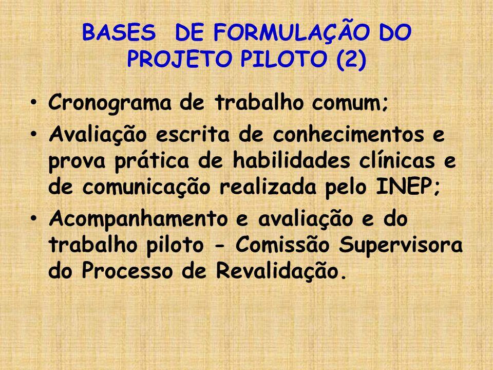 BASES DE FORMULAÇÃO DO PROJETO PILOTO (2)