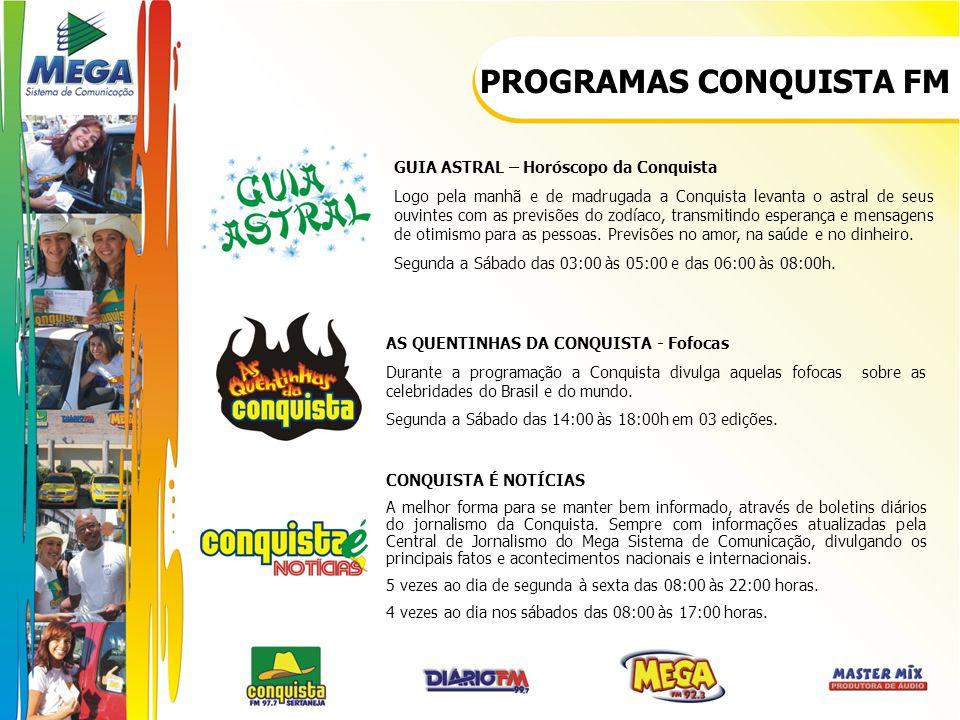 PROGRAMAS CONQUISTA FM