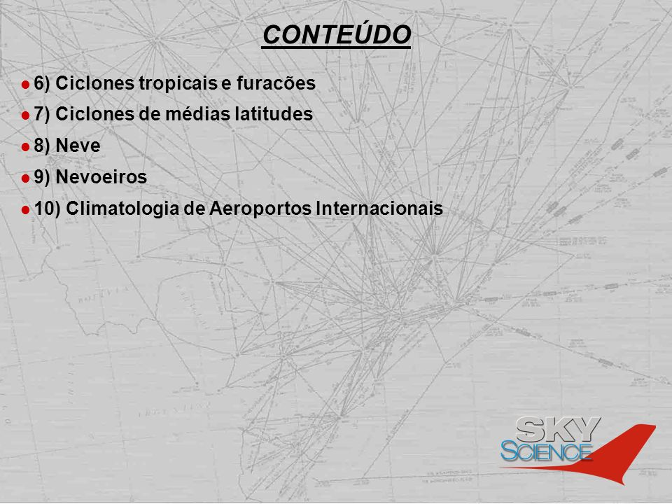 CONTEÚDO 6) Ciclones tropicais e furacões