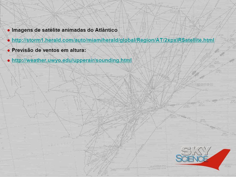 Imagens de satélite animadas do Atlântico