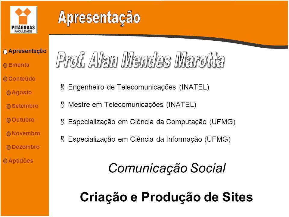 Comunicação Social Criação e Produção de Sites